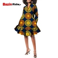 african dashiki print robe clothing maxi dress wy8820