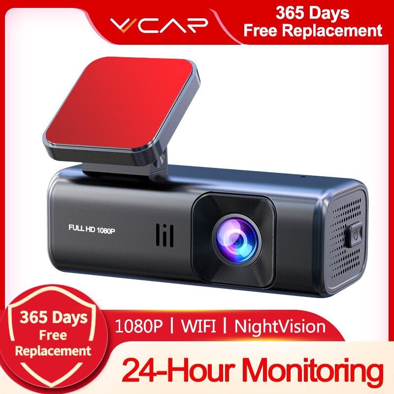 VVCAR D135 جهاز تسجيل فيديو رقمي للسيارات كاميرا كاملة HD 1080P واي فاي داشكام داش كام سيارة مسجل سبور للرؤية الليلية