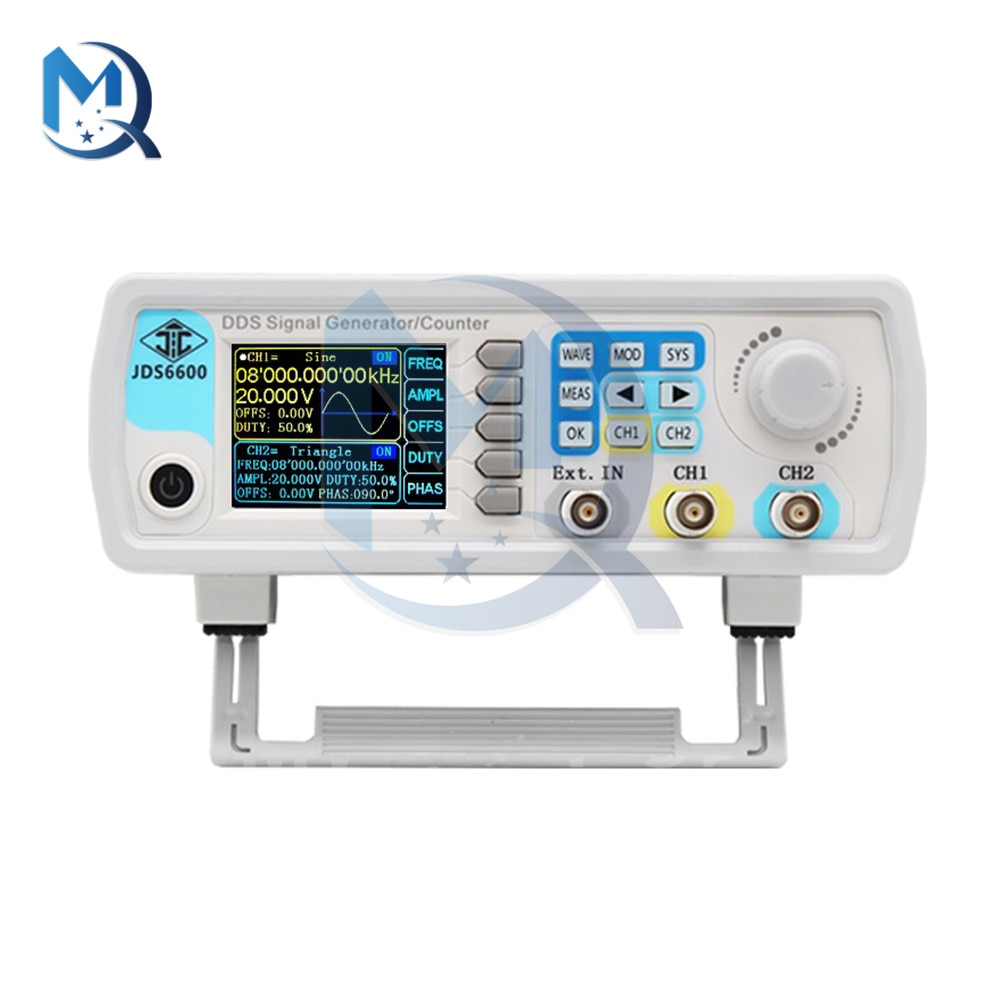 JDS6600-15M 15MHz Signal Generator Full CNC DDS Dual Channel Function Arbitrary Waveform Signal Generator