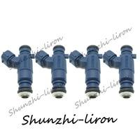 4pcs Fuel Injector Nozzle For Geely Volkswagen 3000 Vista 06 B52.0 OEM: F01R00M029