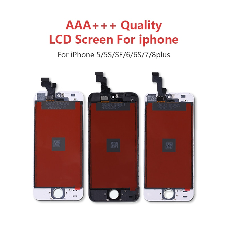 AAA+++ OLED for iPhone X Xs Max LCD Screen for iPhone 6 6s 7 7Plus 8 Plus Replacement Display Ture Tone for iPhone XR Screen enlarge