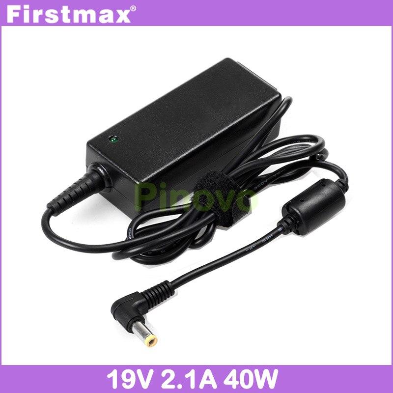 Firstmax portátil cargador/adaptador de CA 19V 2.1A para Medion Akoya Mini E1211 E1212 E1215 E1217 E1218 E1210 MD96727 S1211 fuente de alimentación