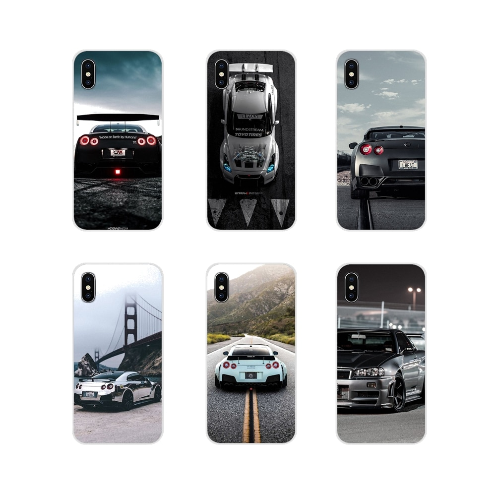 JDM Car GTR Metal Logo Accessories Phone Shell Covers For Xiaomi Redmi Note 3 4 5 6 7 8 Pro Mi Max M