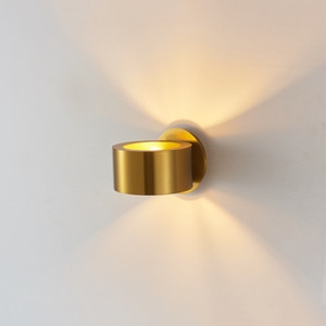 Modern Bedside Wall Sconce Lights Fixture Luminaire Gold Metal Round Lamps Bed Room Decoration Lighting Hallway Aisel Led Small