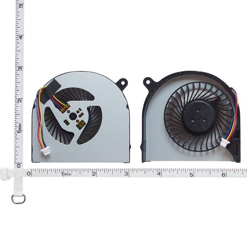 Cpu gpu ventilador de refrigeração para acer aspire v nitro vn7 591 vn7 591g VN7-591 VN7-591G 00h860 ab07505hx070b00 portátil ventilador refrigerador