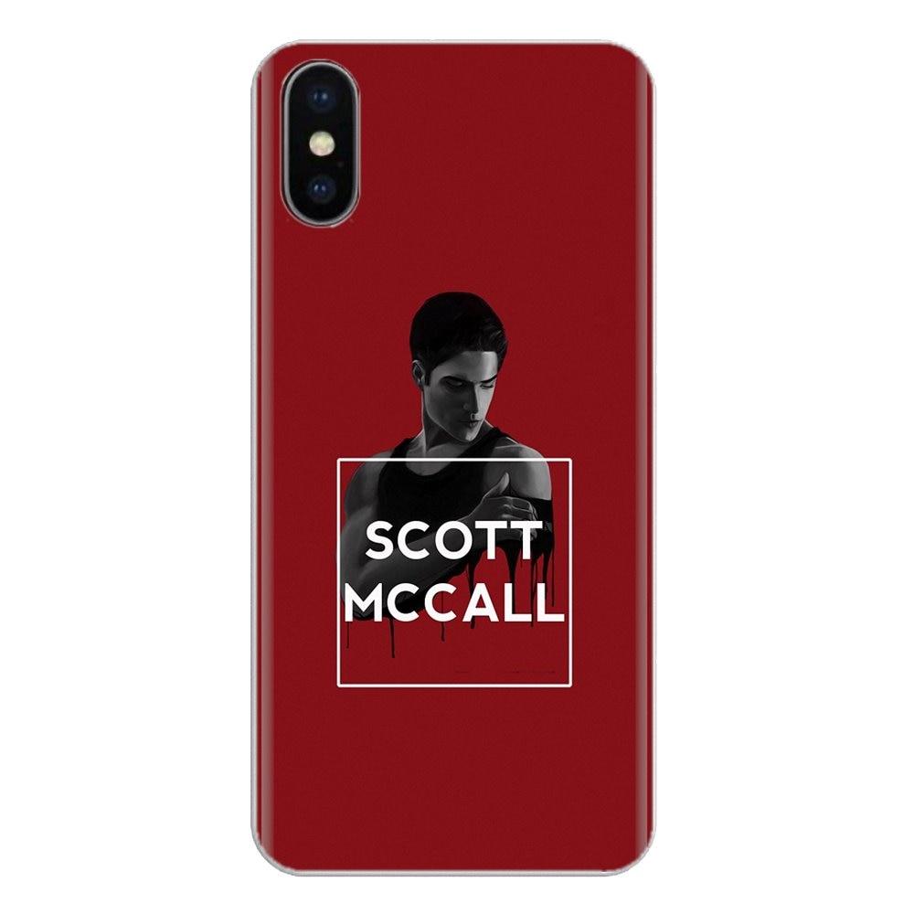 Silikonowa osłona na telefon pokrywa McCall 11 teen wolf dla LG G3 G4 Mini G5 G6 G7 Q6 Q7 Q8 Q9 V10 V20 V30 X mocy 2 3 K10 K4 K8 2017