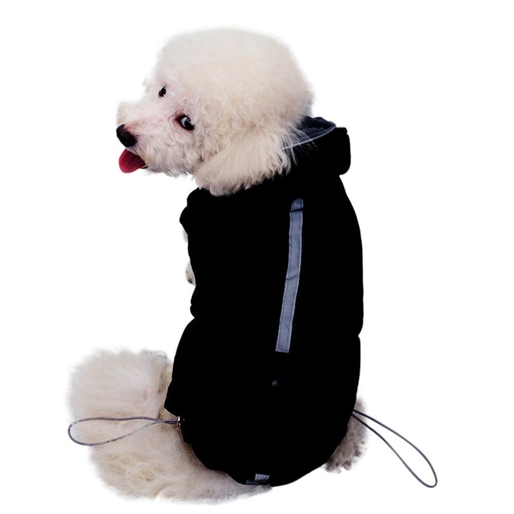 Ropa deportiva para mascotas, Abrigo cálido con capucha de 2 patas, Abrigo...