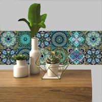 Autocollant Mural colore retro en PVC  10 15 20 30cm  papier peint impermeable  pour salle de bain  cuisine  escaliers  decoration de la maison  Art vinylique