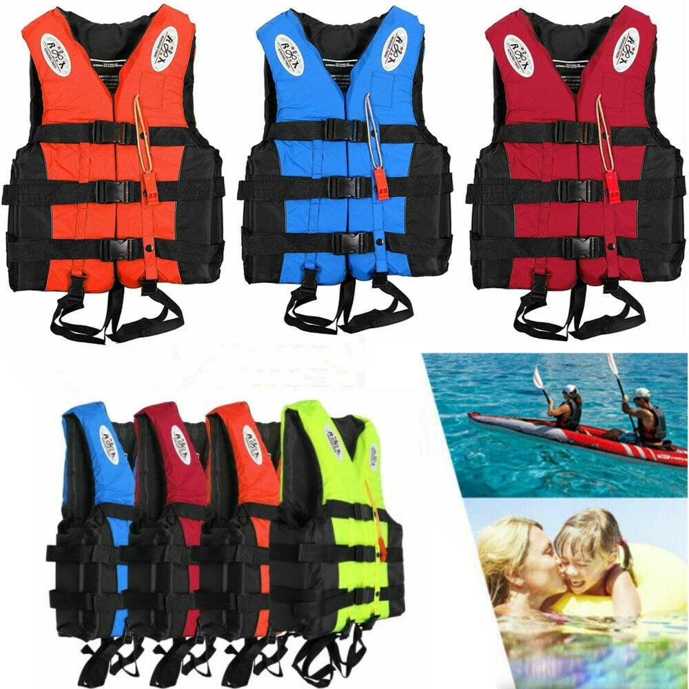 Спасательные жилеты для взрослых и детей, каяк для водных видов спорта, катания на лыжах, плавучести, для серфинга, лодочная жилет, размеры ...