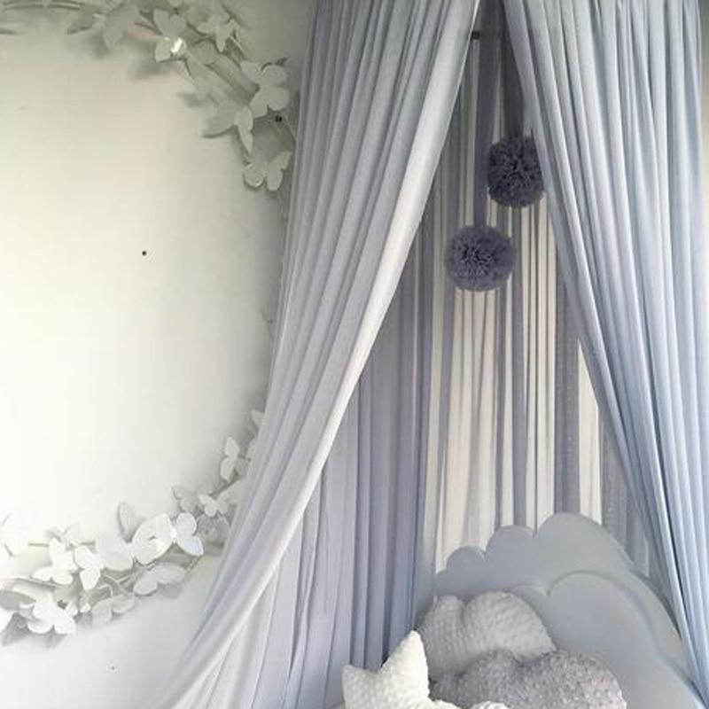 Nordic Baby Mosquito Net Accessories Hanging Ball Princess Kids Bedroom Children Bed Tent Baby Girl Room Decor Crib Netting Ball enlarge