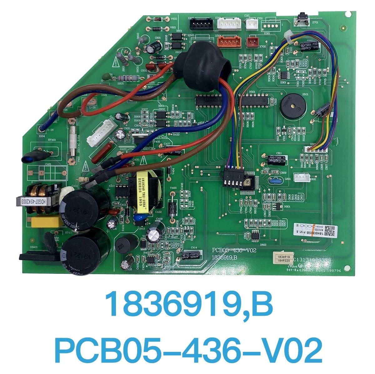 PCB05-436-V02 1836919.B مكيف الهواء الرئيسية لوحة دوائر كهربائية ل الكلاسيكية HWDKC30S HWDKC36S