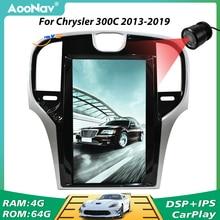 PX6 écran Vertical autoradio 2 Din GPS Navigation pour Chrysler 300C 2013 2014 2015 2016 2017 2018 2019 lecteur multimédia Audio