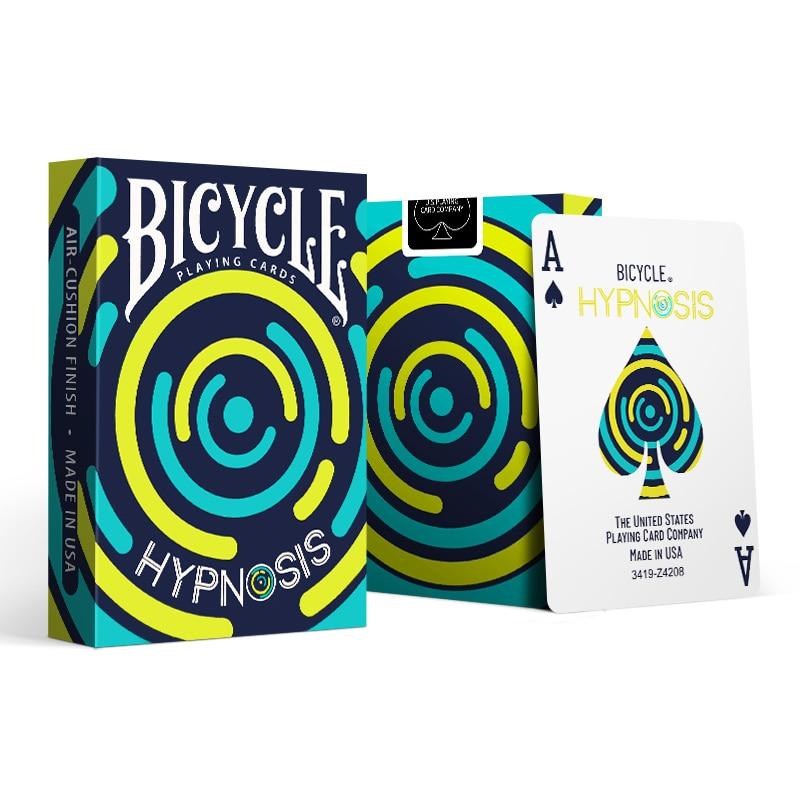 Велосипед гипноз игральные карты Cardistry колода USPCC ограниченный выпуск покер магические карты игры магические трюки реквизит для волшебника