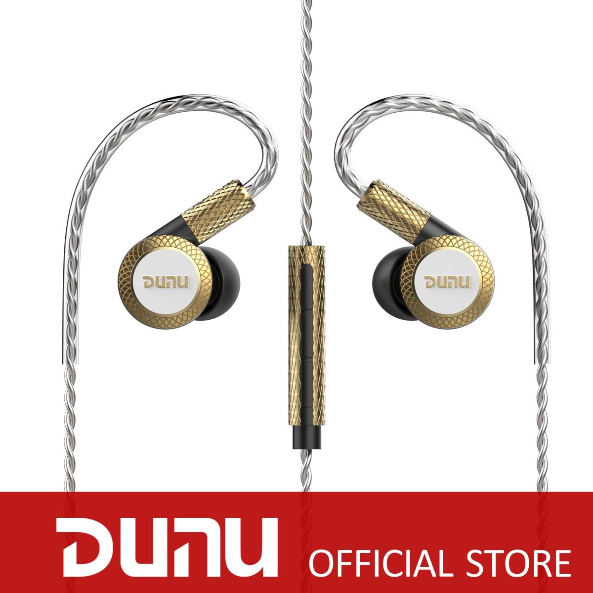 DUNU DM380 Titanium Diaphragm Triple Dynamic earphones Hi-Res in-ear earphones