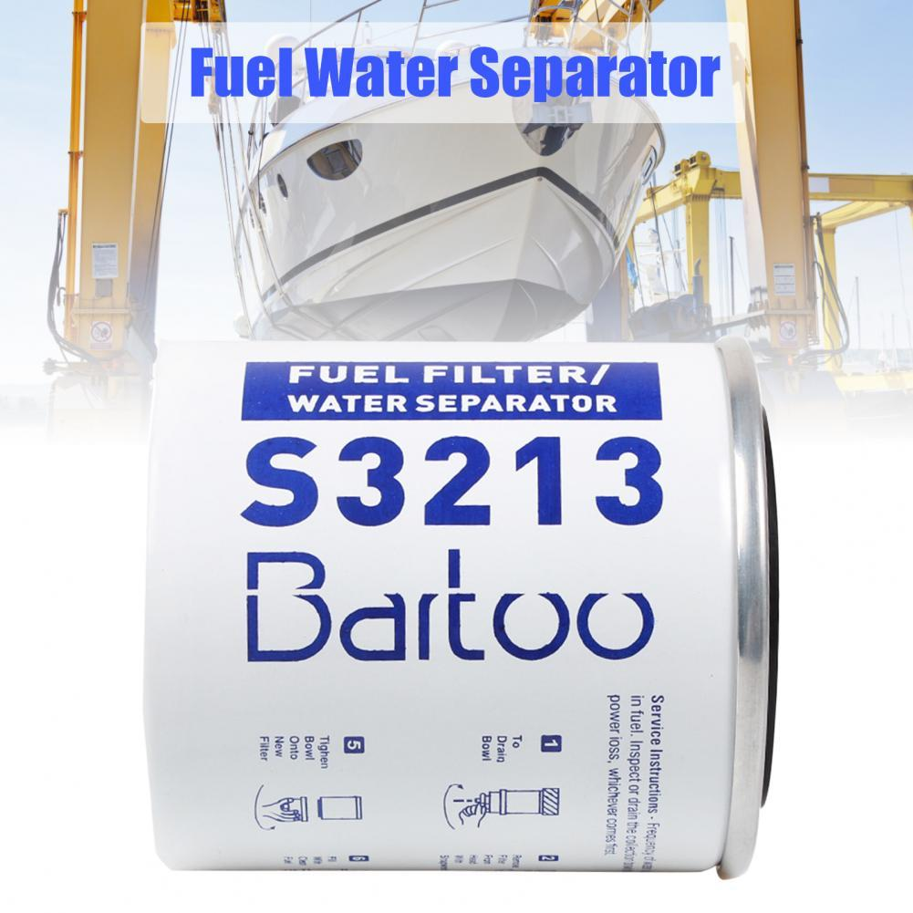 OFI055 Fuel Water Separator Universal Replacement White Boat Oil Filter Element S3213 Oil-water Separator Filter Element 250ml 24 40 soxhlet extractor used for distillation unit oil water receiver separator essential oil distillation kit part