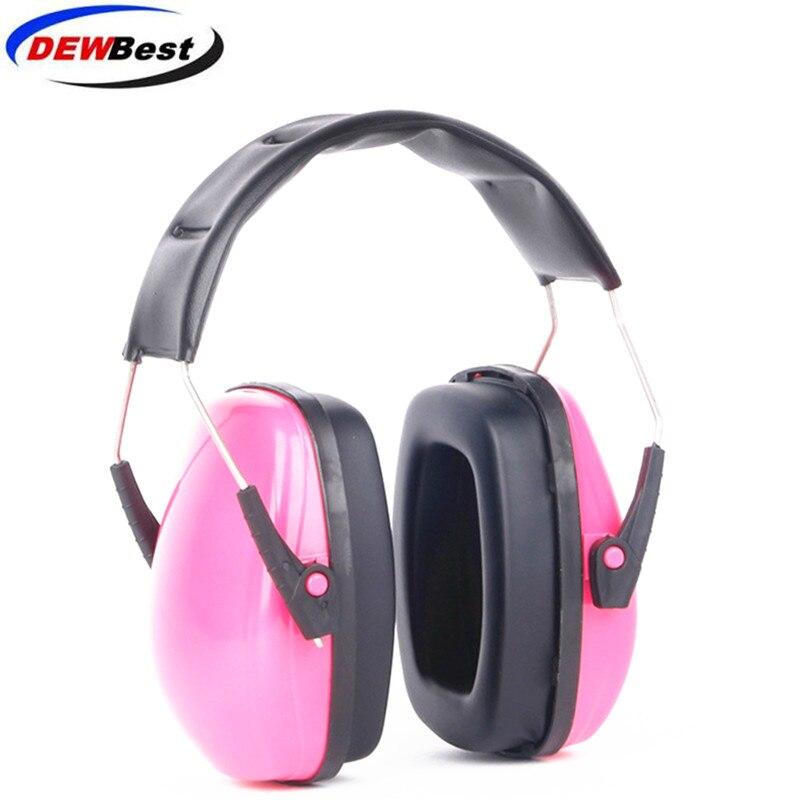 Orejeras ajustables de PVC + esponja para protección auditiva, protección auditiva, reducción de ruido, seguridad en amarillo/azul/rosa/Negro d9
