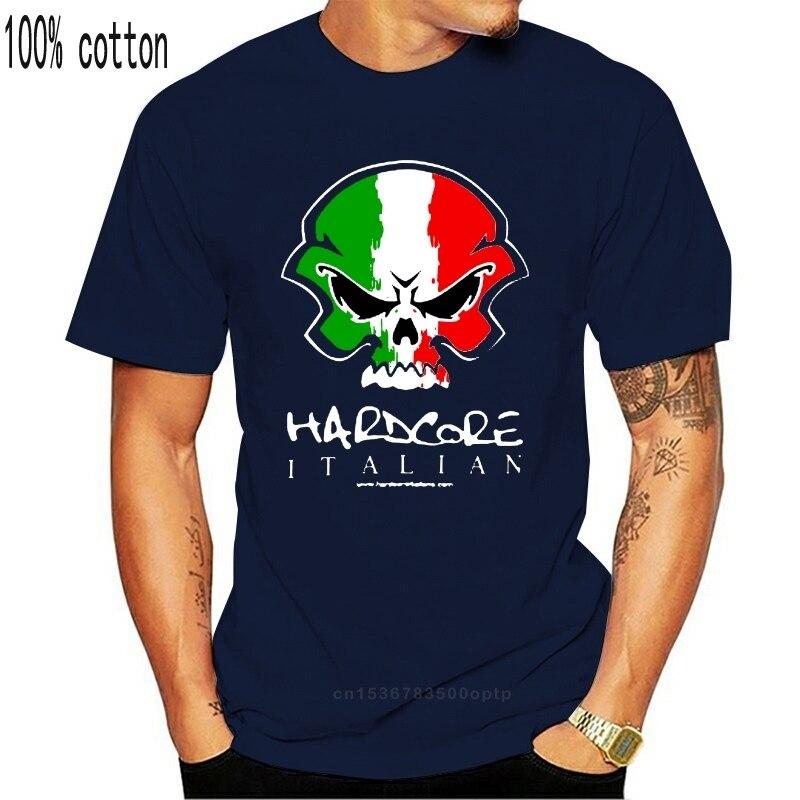 Camiseta de mulher italiana hardcore