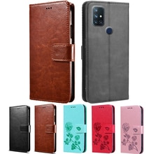 Flip Case For OnePlus Nord N100 Cover PU Leather Luxury Wallet Fashion Capa for OnePlus 1+ Nord N10