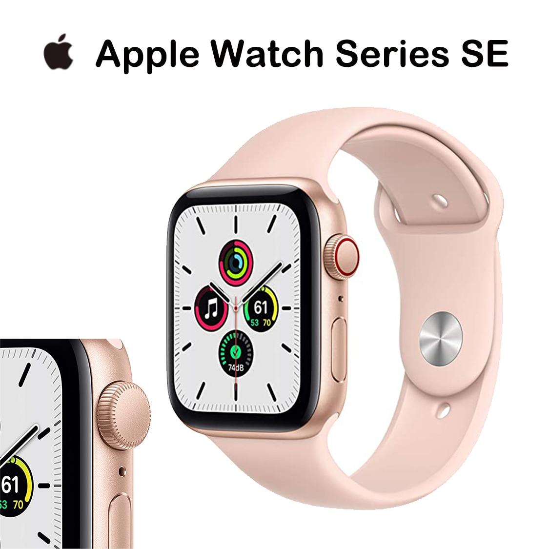 Get Smart watch New Original Apple Watch Series SE GPS + Cellular 40MM/44MM iWatch Aluminum Case  Sport Band