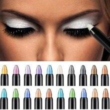 2019 professionnel haute qualité ombre à paupières stylo beauté surligneur fard à paupières crayon 116mm gros crayon pour les yeux