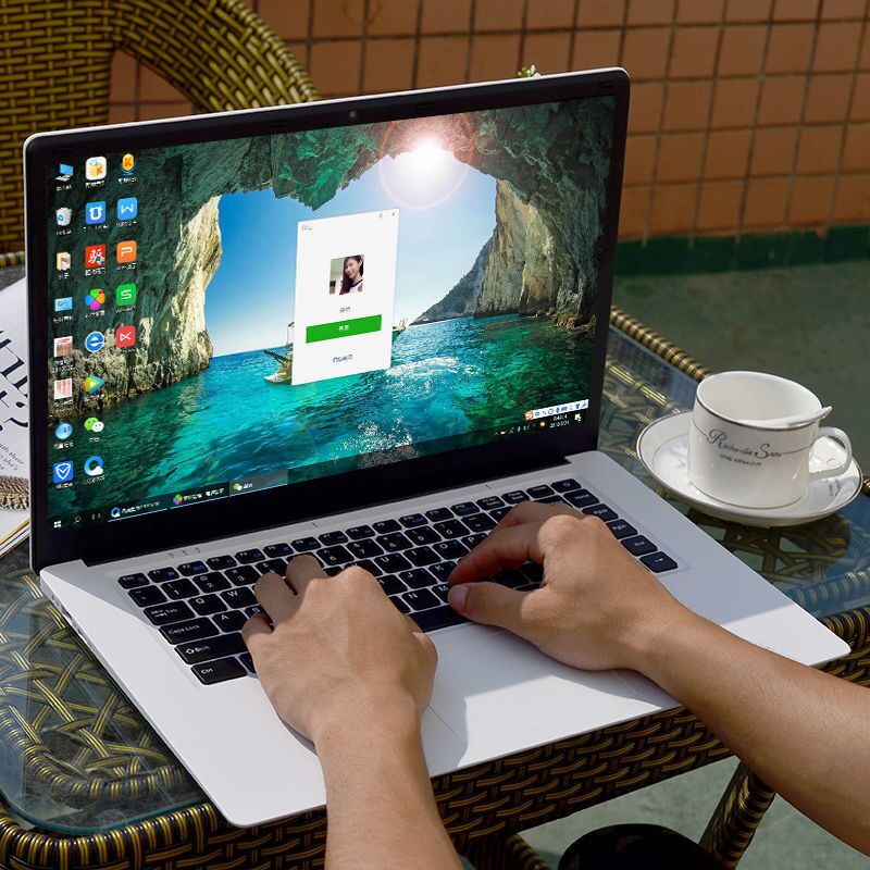 Promo BEST SELLER laptop 13.3inch notebook  n3350 CPU With 128GB 256GB 512GB SSD 1TB HDD  laptops made in China