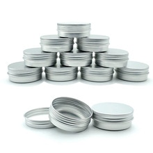 10Pcs 30G Aluminium Blikje, Lippenstift Container, Lege Kaars Kan, Metalen Container, crème Kan Doos