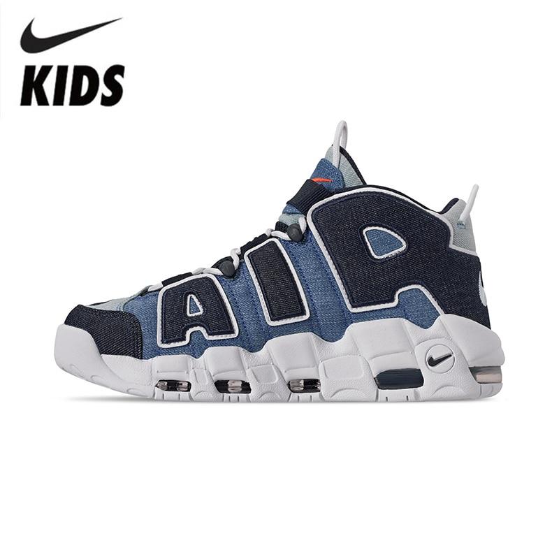 Nike Airmore Uptempo детская Баскетбольная обувь детская обувь AA1554