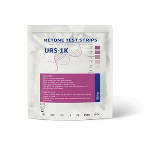 Ketone Test Strips for Ketones Testing 100 Pack Keto Urinalysis Kit for Ketogenic Low Carb Diets  Accurate Measurement