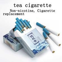 Le thé à base de plantes (sans tabac) fait goût de Cigarette bon pour arrêter de fumer 100% livraison gratuite de Nicotine