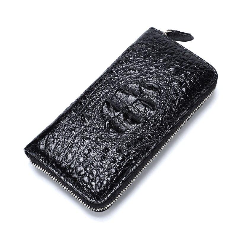New Men's Crocodile Leather Wallet Business Multi-functional Card Holder For Men Carteira Feminina Masculina Billetera Hombre