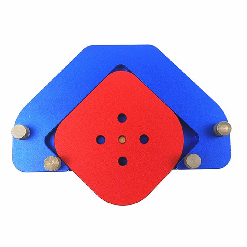 KT-R2 Wood Panel Radius Quick Round Arc Positioning Template Aluminum Alloy Woodworking Tool enlarge