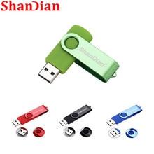SHANDIAN nouveau lecteur flash créatif haute vitesse 64GB 32 GB 16 GB 4GB Application de stockage externe USB cadeau de mode