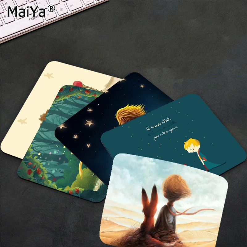 MaiYa Personalized Cool Fashion The Little Prince Beautiful Anime Mouse Mat Smooth Writing Pad Desktops Mate gaming mouse pad maiya funny tie dye customized mousepads computer laptop anime mouse mat smooth writing pad desktops mate gaming mouse pad