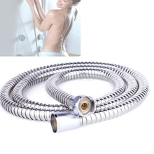 Flexible 2M Stainless Steel Shower Hose Bathroom Heater Water Head Pipe New Drop Shipping