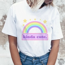T-shirt femme egirl t-shirt femme gentillesse grande taille t-shirt vêtements t-shirt doodle baddie femmes harujuku streetwear anime