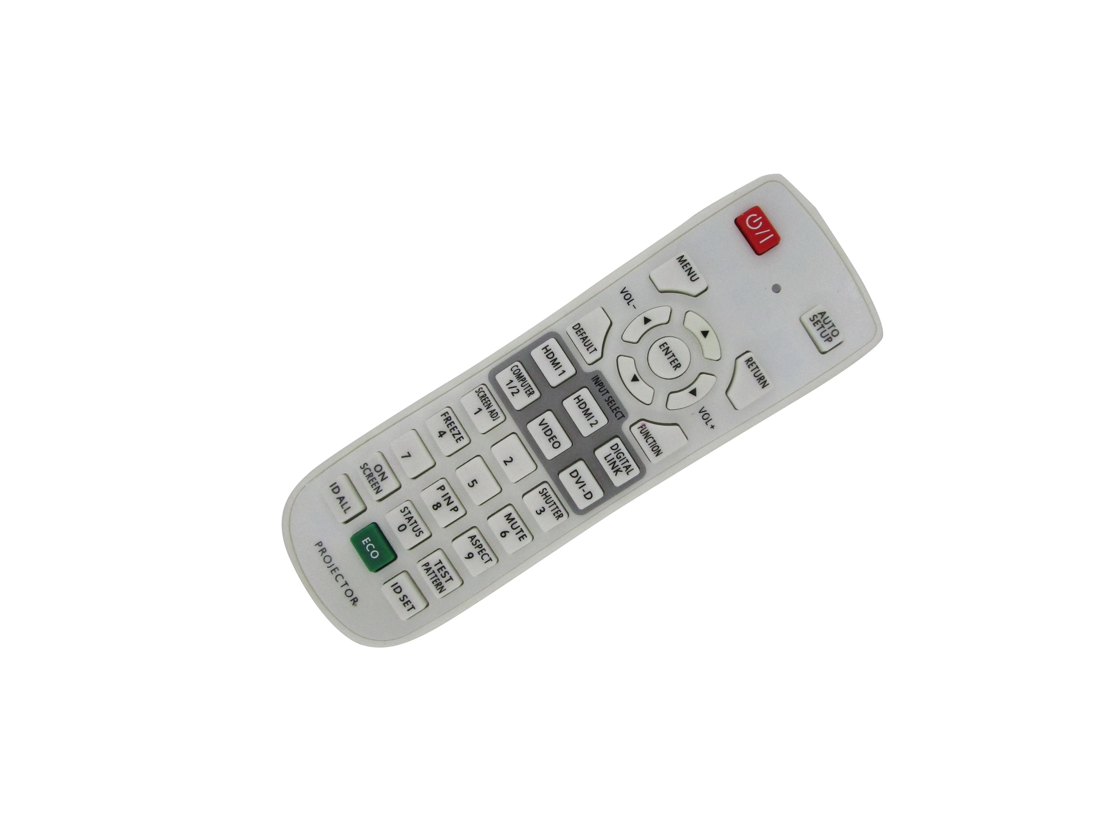 Control remoto para Panasonic PT-EZ590L PT-EX620U PT-EX620UL PT-EZ590U PT-EZ590UL PT-FZ570U PT-FW530U PT-FX500U 3LCD para proyector