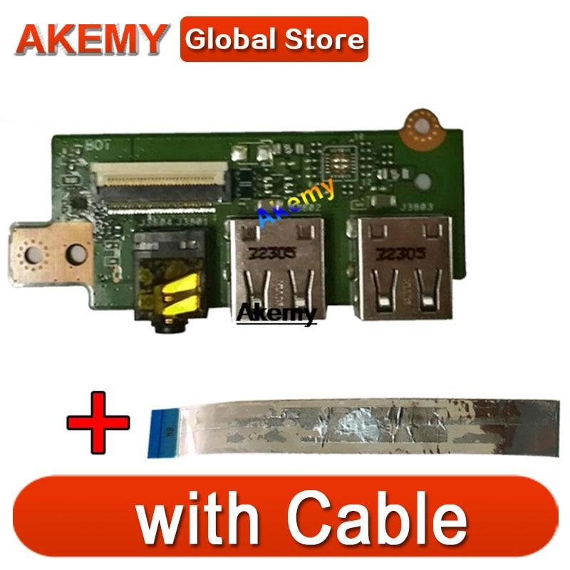 لوحة صوت USB مع كابل ، ASUS لـ S550 ، S550C ، S550CM ، S550CA ، S550CB ، 69N0N3C10C01