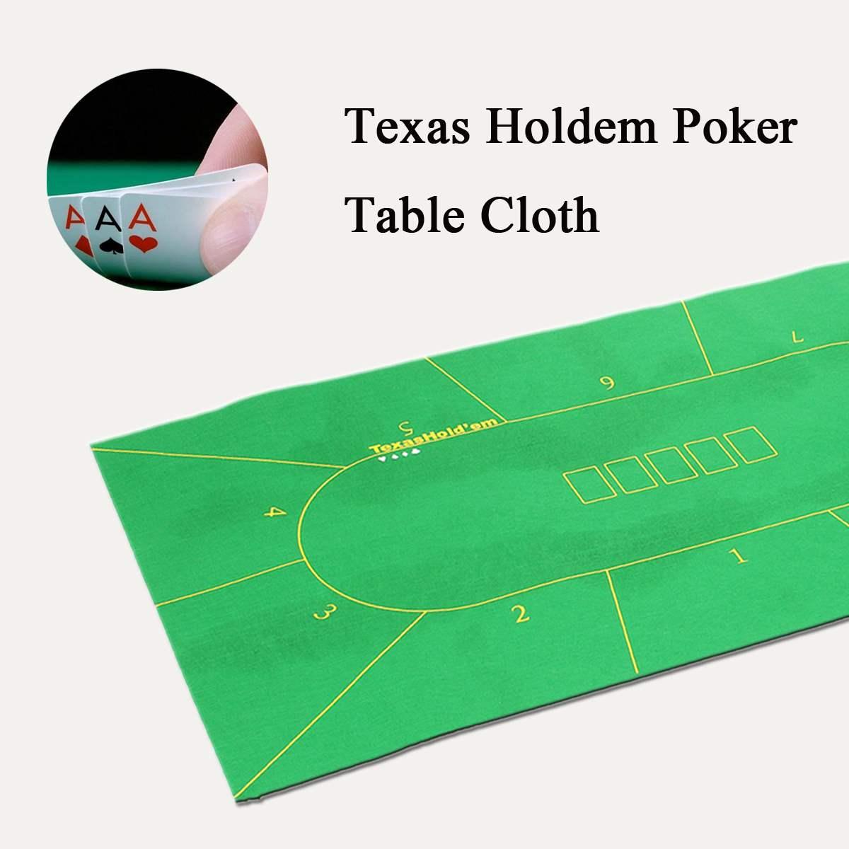 180*90 см скатерть для покера, Техасский Холдем, набор для покера в казино, коврик для настольных игр, аксессуары для покера для 10 игроков-0
