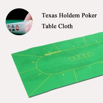 180*90 см скатерть для покера, Техасский Холдем, набор для покера в казино, коврик для настольных игр, аксессуары для покера для 10 игроков
