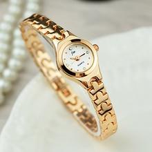 New Fashion Watches Women Waterproof Rose Gold Lady Quartz Watch Casual Relogio Feminino Crystal Lad