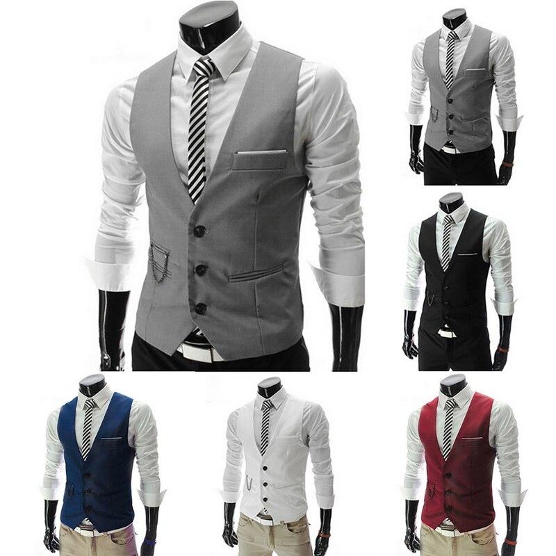 JODIMITTY 2020 chaleco Formal para hombre, Chaleco Ajustado para hombre, chaleco para traje para hombre, chaleco para fiesta de boda, chaqueta informal de negocios para hombre