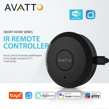 AVATTO S07 Tuya universel intelligent 2.4G WiFi IR télécommande avec Alexa,Google maison commande vocale infrarouge domotique intelligente