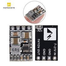 Module abaisseur de Micro-BEC Matek léger 5V 12V 1.5A sortie batterie lipo 2-5s pour drone RC FPV quadrirotor