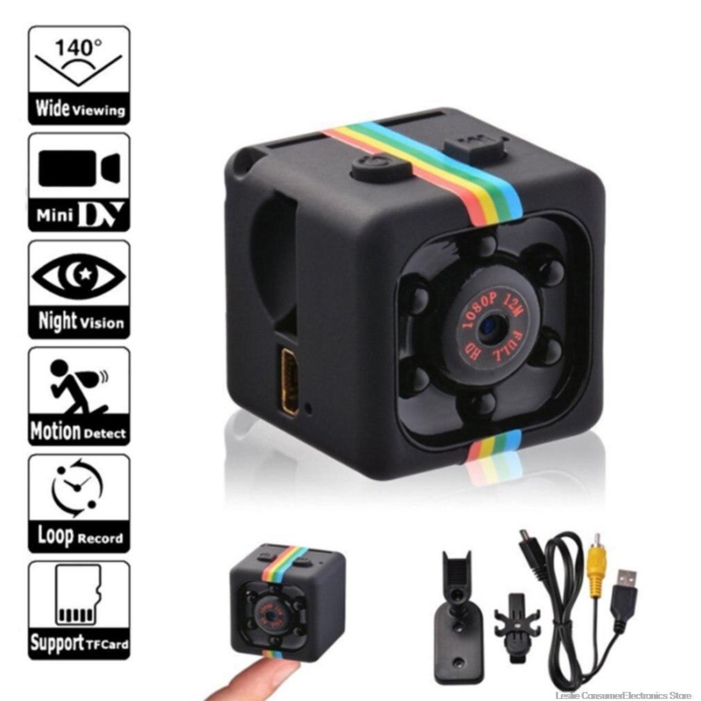 Mini cámara HD 960 P/1080 P Sensor de visión nocturna videocámara movimiento DVR Micro Cámara deporte DV Video cámara pequeña color negro