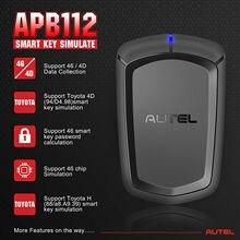 Интеллектуальный ключ симулятор AUTEL APB112, чип 46 4D, совместимый с IM608,IM508,MX808IM