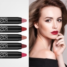 19 Colors Lipstick Pens Waterproof Non-stick Cup Long Lasting Colorfast Velvet Lipstick Beauty Lip T