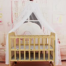 ¡Caliente! Ropa de cama para bebé OUTAD, mosquitera portátil, tamaño redondo, cama para bebé, mosquitera, red colgante para cortina de cúpula de verano