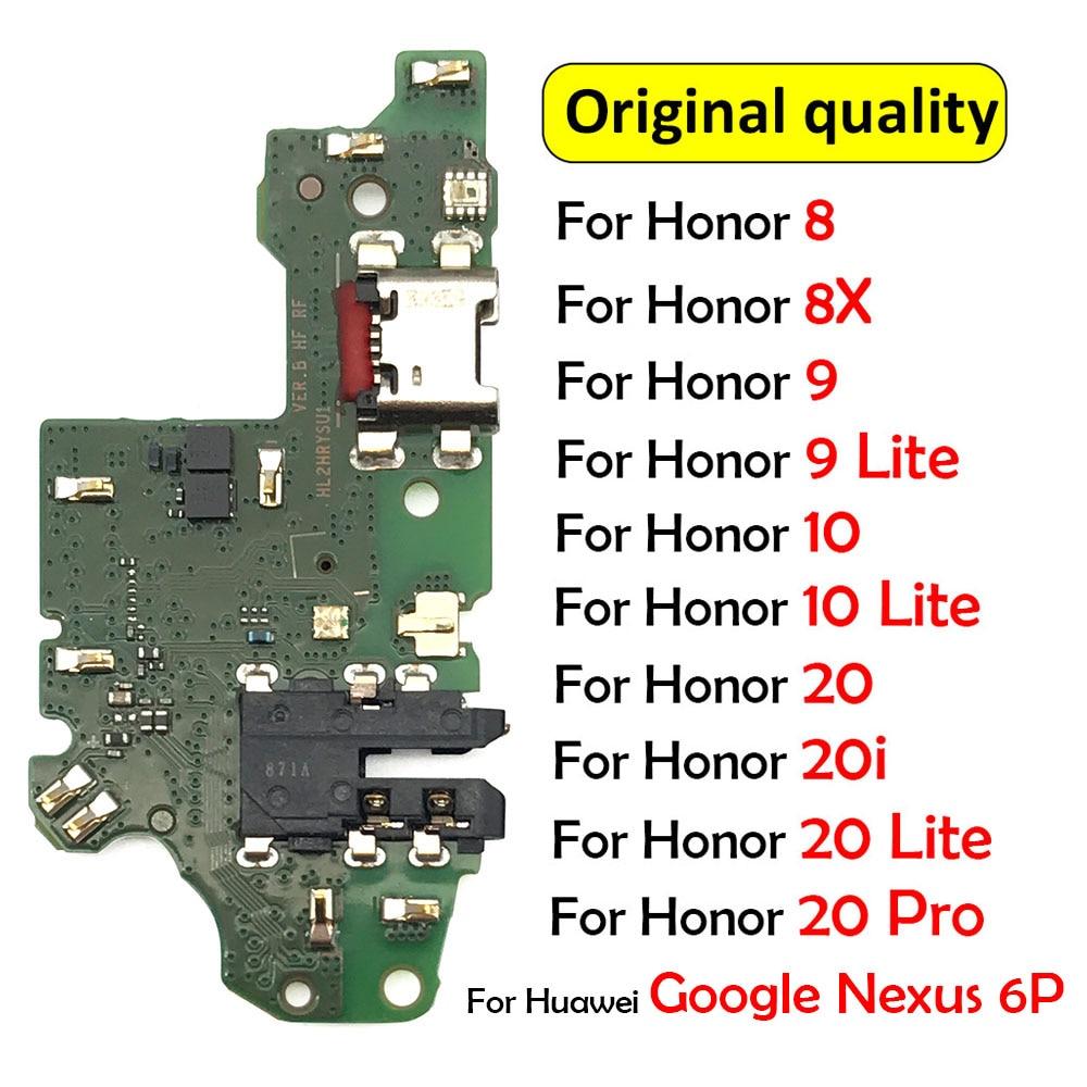 New For Huawei Google Nexus 6P / Honor 8 9 8X 10 20 Lite Pro 20i USB Charging Board Dock Port Charge