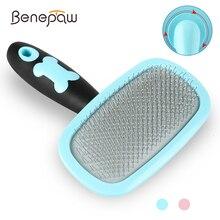 Benepaw 360 Rotation Slicker Haustier Kamm Für Hunde Katzen Sauber, Komfortabel Welpen Massage Haar Bürste Pflege Werkzeuge Anti-slip griff