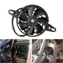 12V ventilatore moto 200CC 250CC ATV Kit di raffreddamento radiatore motore radiatore olio accessori per BMW Honda Suzuki Dirt Pit Bike Scooter
